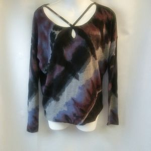 Rock & Republic Sweater with Crossover, XS